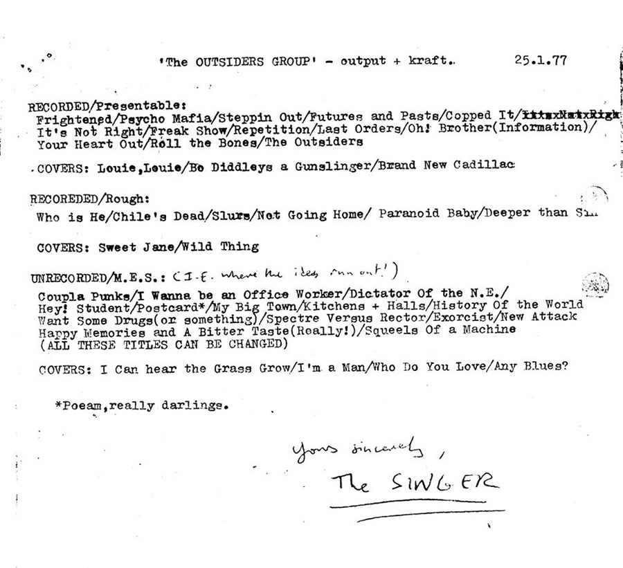http://thefall.org/gigography/image/1977-01-25_lettertoFriel-withsongtitles.jpg