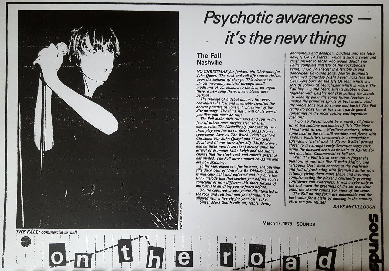 The Fall gigography | 1979